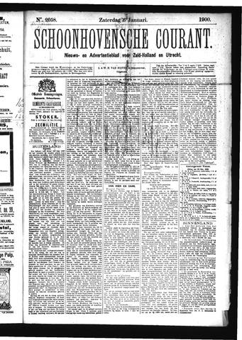 Schoonhovensche Courant 1900-01-06