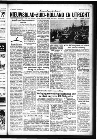 Schoonhovensche Courant 1966-01-12