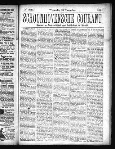 Schoonhovensche Courant 1895-11-20