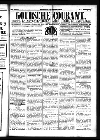 Goudsche Courant 1929-01-09