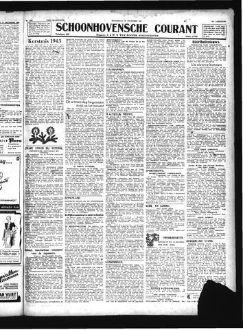 Schoonhovensche Courant 1943-12-23