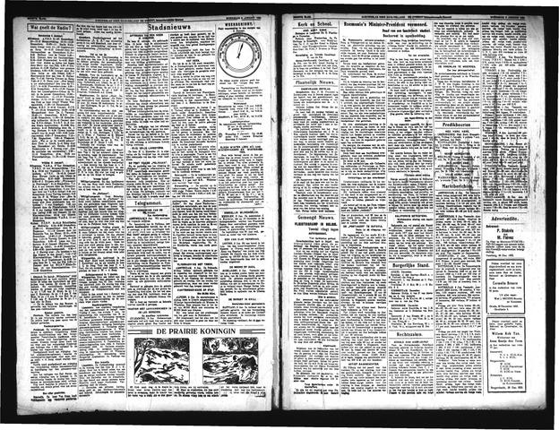 Schoonhovensche Courant 1934-01-03