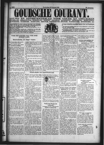 Goudsche Courant 1940-02-22