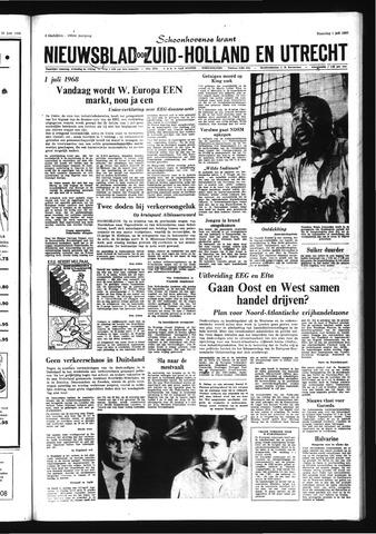 Schoonhovensche Courant 1968-07-01