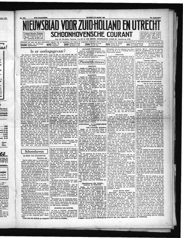 Schoonhovensche Courant 1938-03-28
