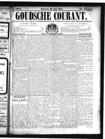 Goudsche Courant 1914-06-29