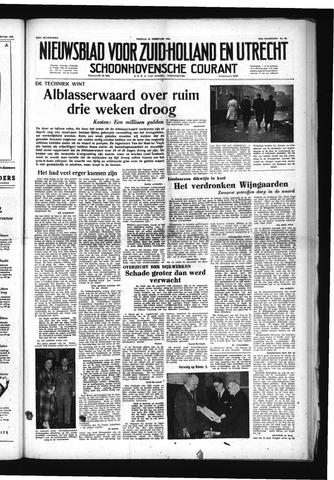 Schoonhovensche Courant 1953-02-20