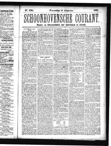 Schoonhovensche Courant 1896-08-12