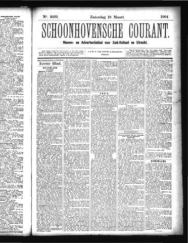 Schoonhovensche Courant 1904-03-19