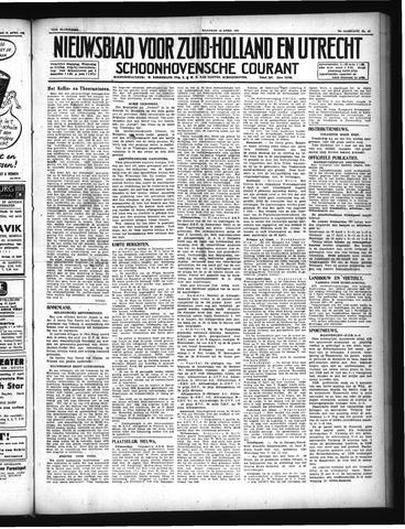 Schoonhovensche Courant 1947-04-14