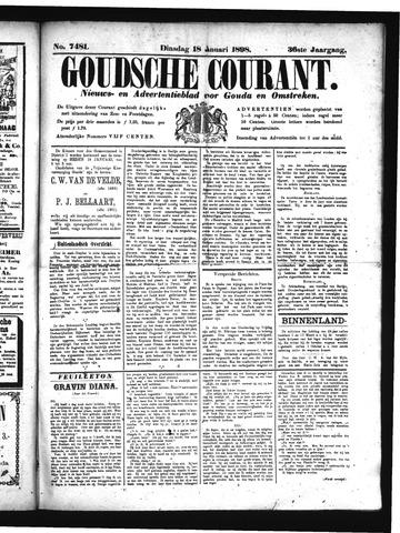 Goudsche Courant 1898-01-18