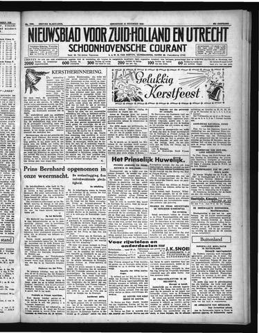 Schoonhovensche Courant 1936-12-23