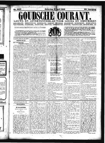 Goudsche Courant 1926-04-10