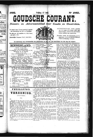 Goudsche Courant 1892-06-17