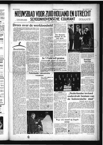 Schoonhovensche Courant 1958-01-29
