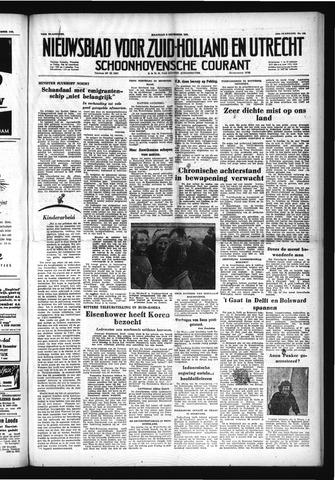 Schoonhovensche Courant 1952-12-08
