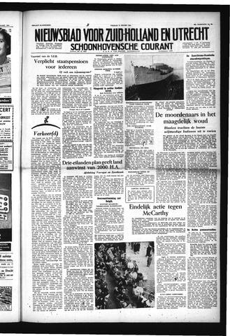 Schoonhovensche Courant 1954-03-12