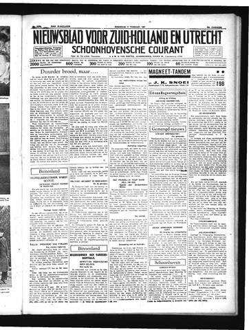 Schoonhovensche Courant 1937-02-17