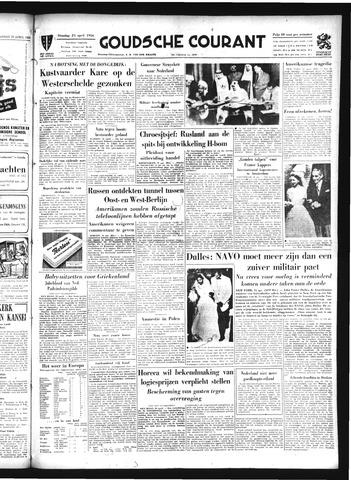 Goudsche Courant 1956-04-24