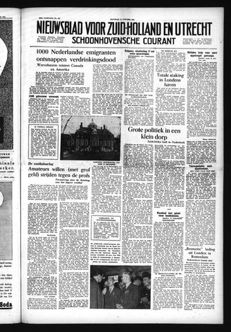 Schoonhovensche Courant 1954-10-18