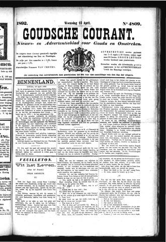 Goudsche Courant 1892-04-13