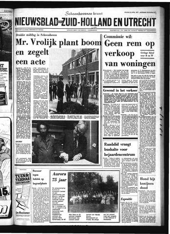 Schoonhovensche Courant 1977-04-22