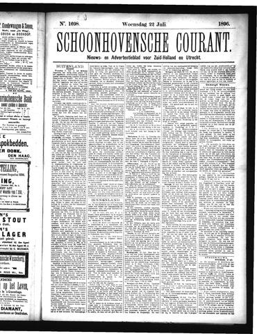 Schoonhovensche Courant 1896-07-22