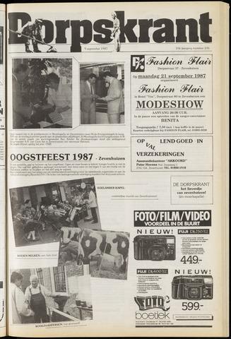 Dorpskrant 1987-09-09
