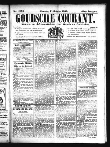 Goudsche Courant 1909-10-18