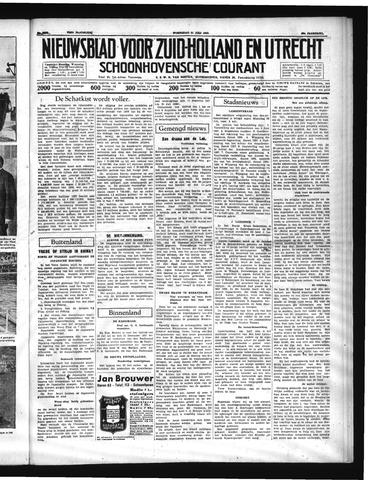 Schoonhovensche Courant 1937-07-21