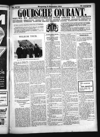 Goudsche Courant 1934-11-21