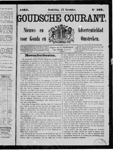 Goudsche Courant 1863-11-12