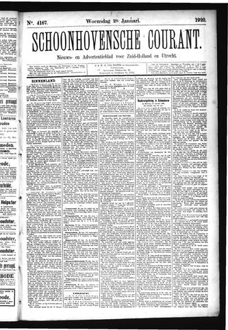 Schoonhovensche Courant 1920-01-28