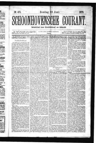 Schoonhovensche Courant 1878-06-23