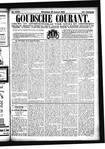 Goudsche Courant 1925-01-28