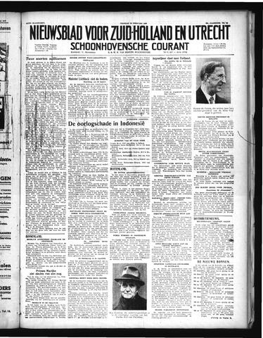 Schoonhovensche Courant 1948-02-20