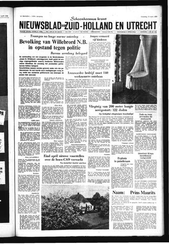 Schoonhovensche Courant 1968-04-22