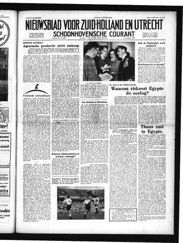 Schoonhovensche Courant 1951-10-19