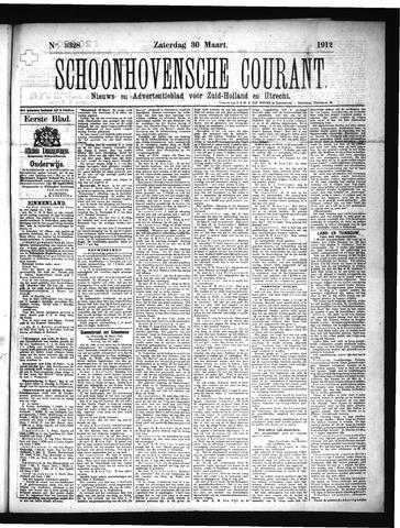 Schoonhovensche Courant 1912-03-30