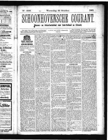 Schoonhovensche Courant 1901-10-30