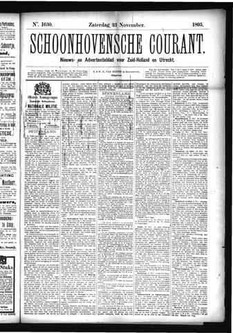 Schoonhovensche Courant 1895-11-23