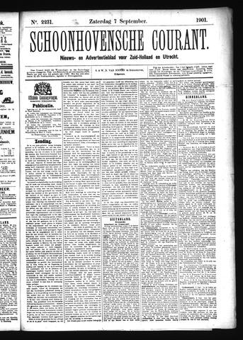 Schoonhovensche Courant 1901-09-07