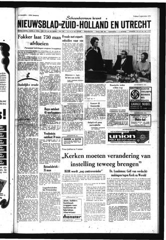 Schoonhovensche Courant 1971-09-17