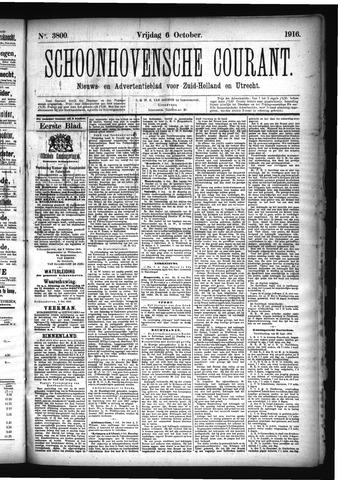 Schoonhovensche Courant 1916-10-06