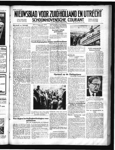 Schoonhovensche Courant 1950-03-31