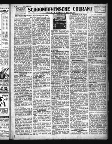 Schoonhovensche Courant 1944-02-01
