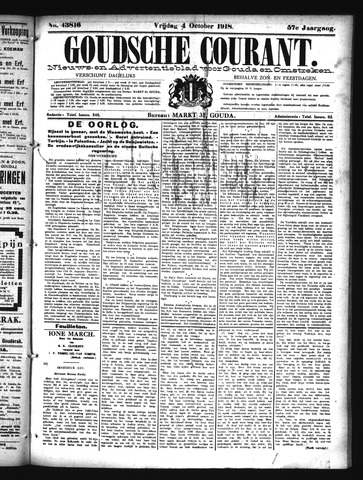 Goudsche Courant 1918-10-04