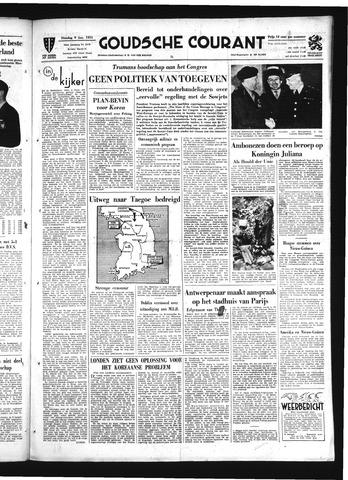 Goudsche Courant 1951-01-09