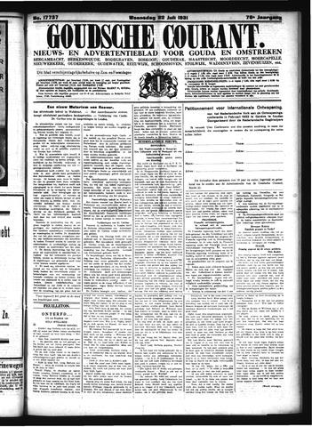 Goudsche Courant 1931-07-22