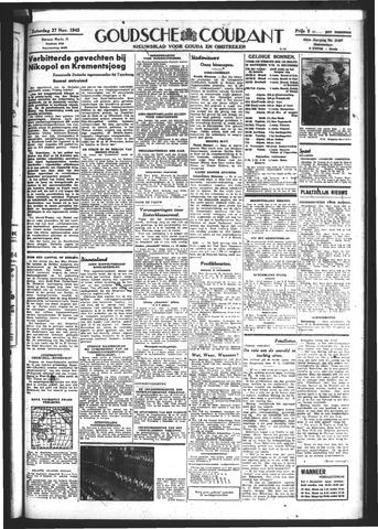 Goudsche Courant 1943-11-27